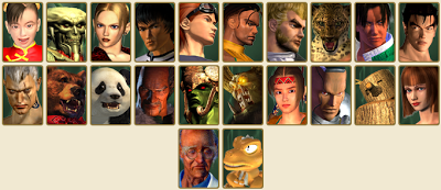 Tekken 3 Characters/Players