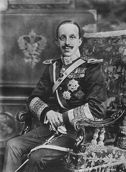 Alfonso , tretse, XIII, rey