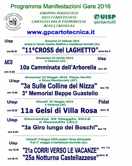 Calendario Podismo Piemonte.Genova Di Corsa Calendario Podistico Gruppo Podistico