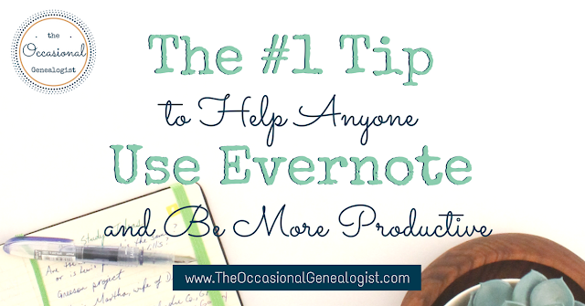 Using Evernote to be more productive is great. But how do you start?