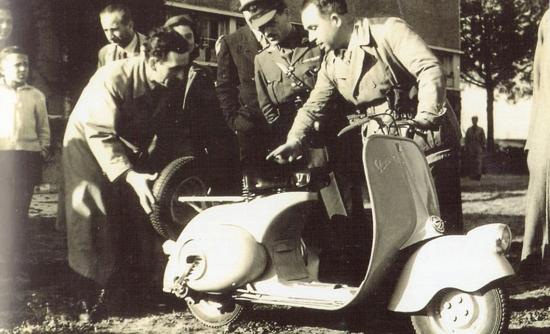 Vespa 98 debut 1946