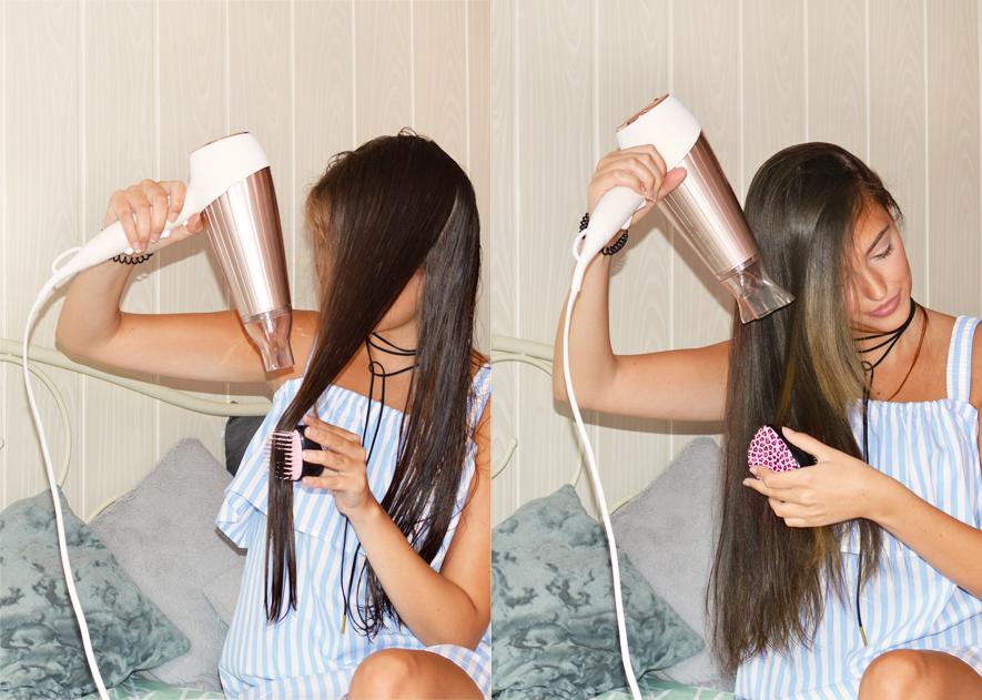 proste włosy bez prostownicy