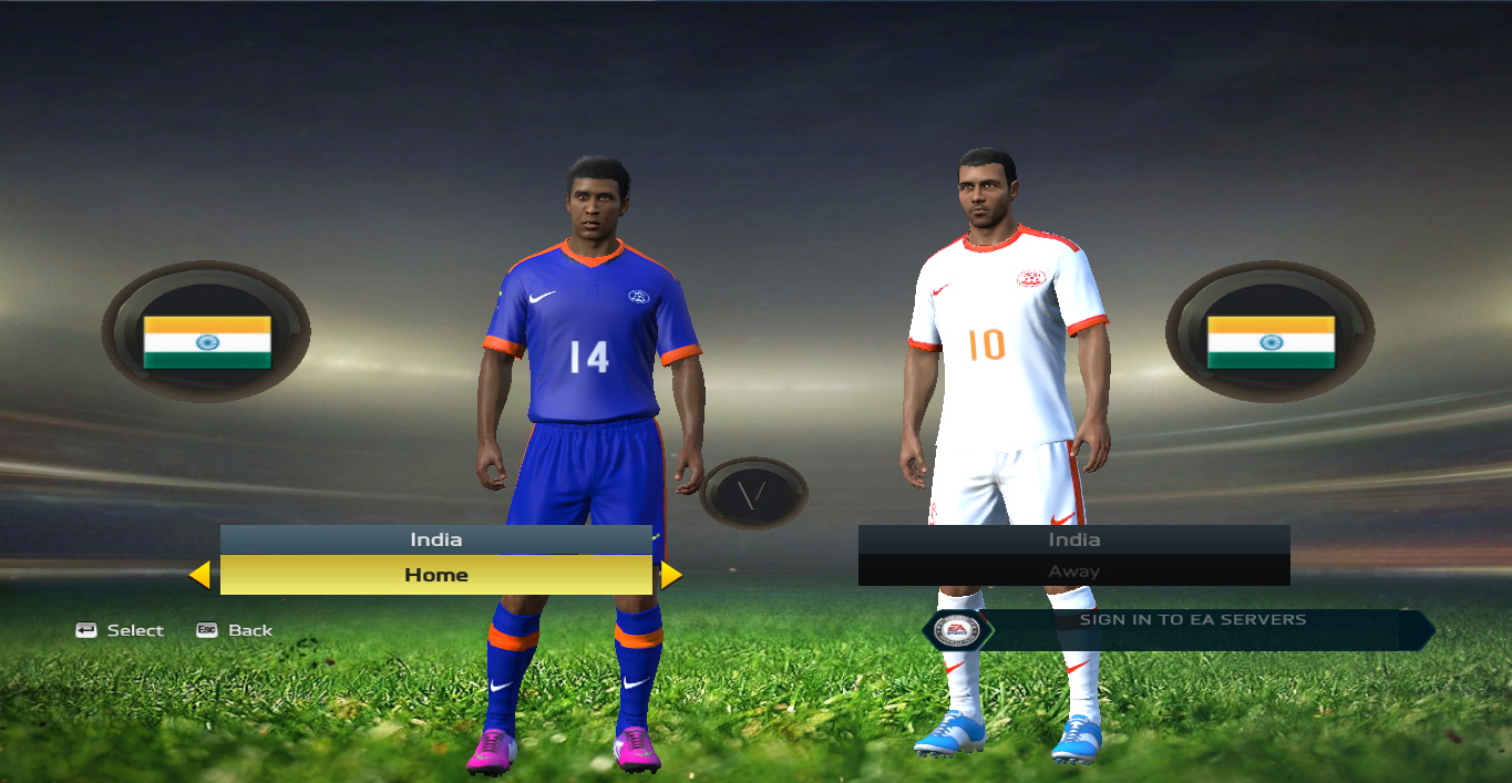 best sneakers 8829d fbdf9 Indian National Team - FIFA 15 at ModdingWay