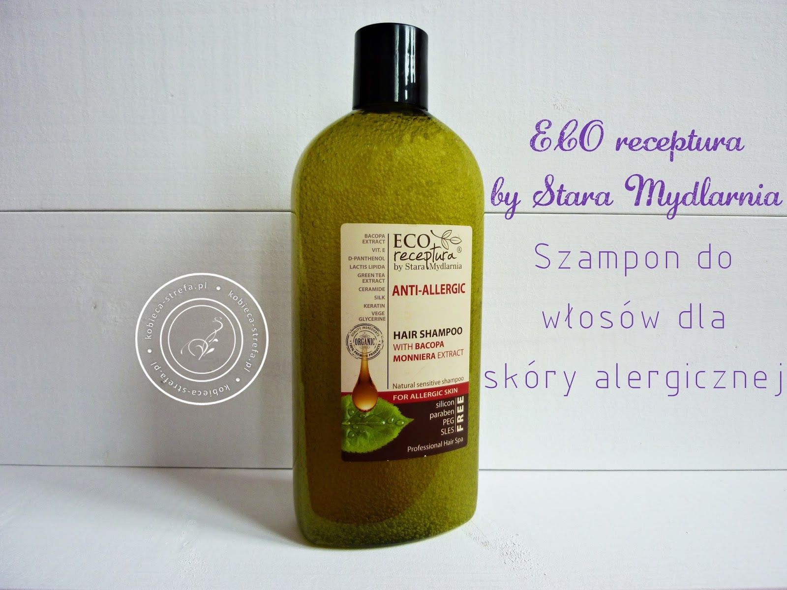 Szampon do włosów dla skóry alergicznej - ECO Receptura by Stara Mydlarnia