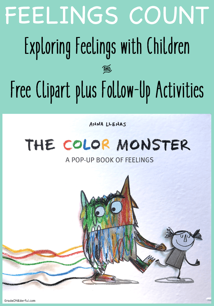 Feelings Are Important: The Color Monster Book Review and Activities ...