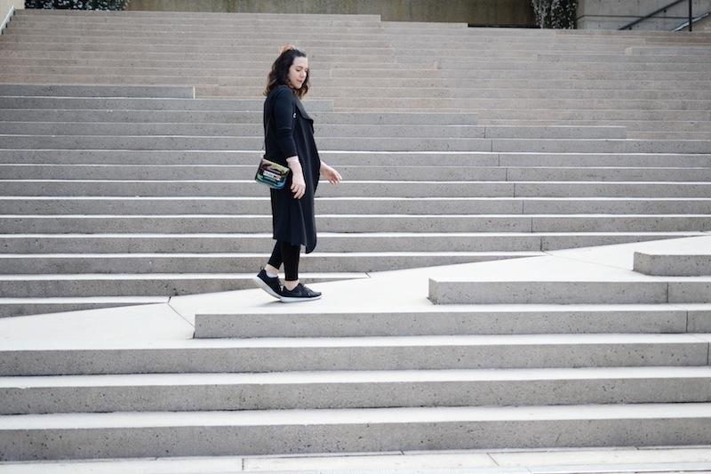Le Chateau waterfall vest topshop jaime jeans vancouver fashion blogger