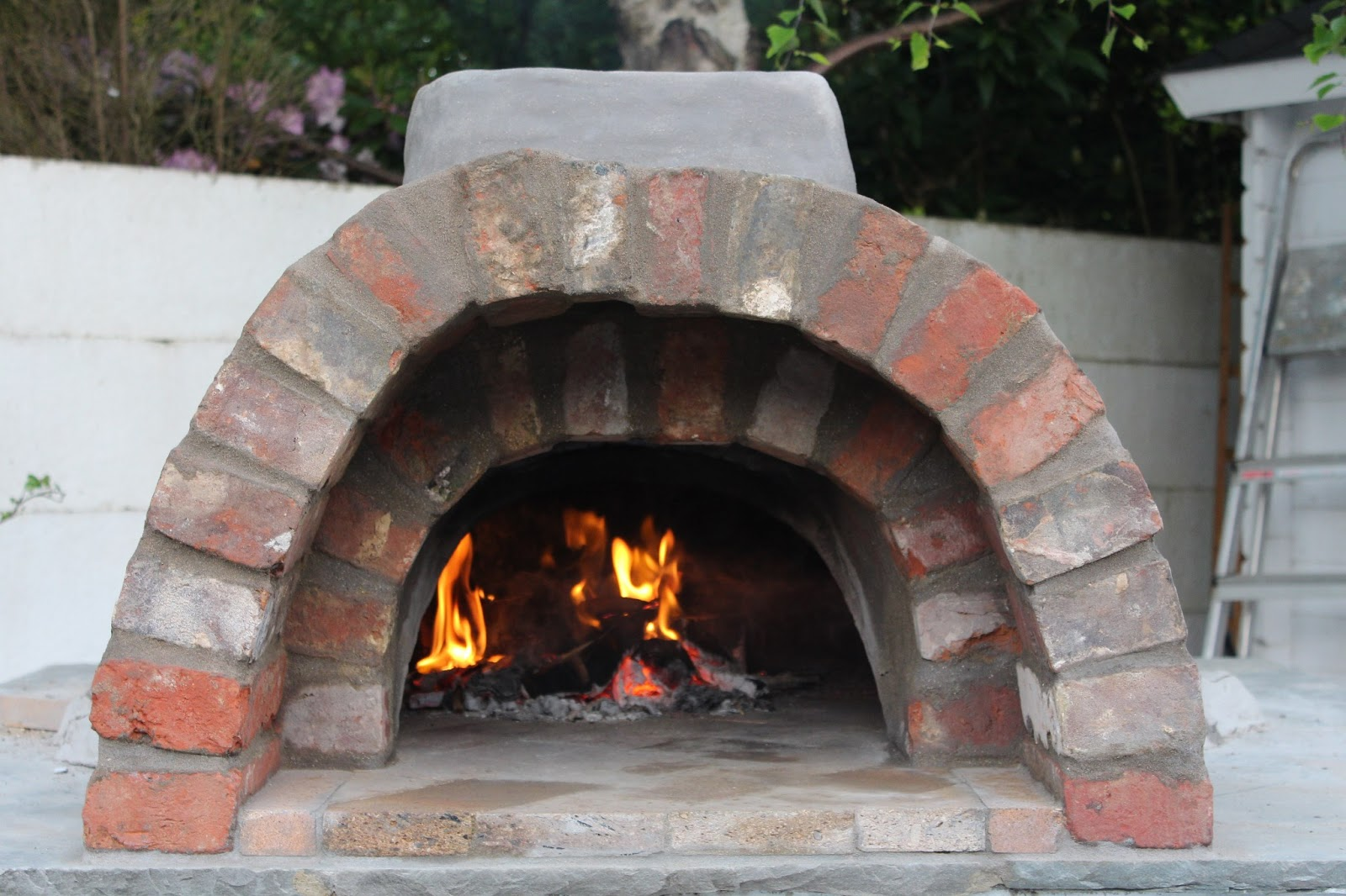 Clay Brick Pizza Ovens : Flower pot kitchen clay oven building your wood fired