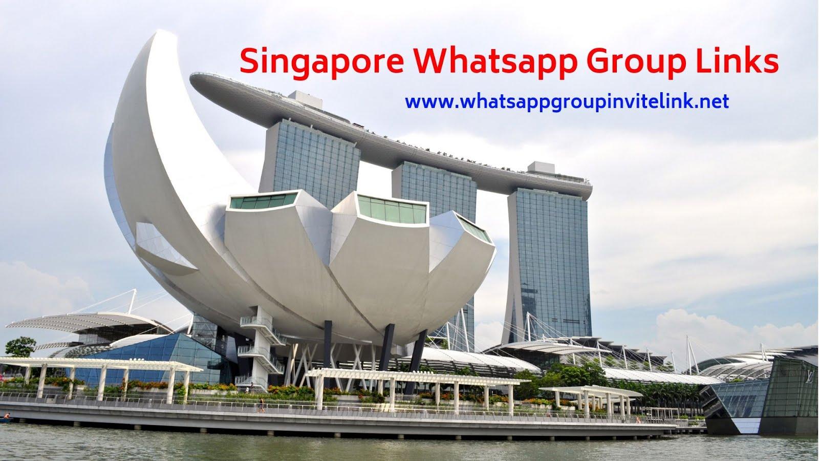 Whatsapp Group Invite Links: Singapore Whatsapp Group Links