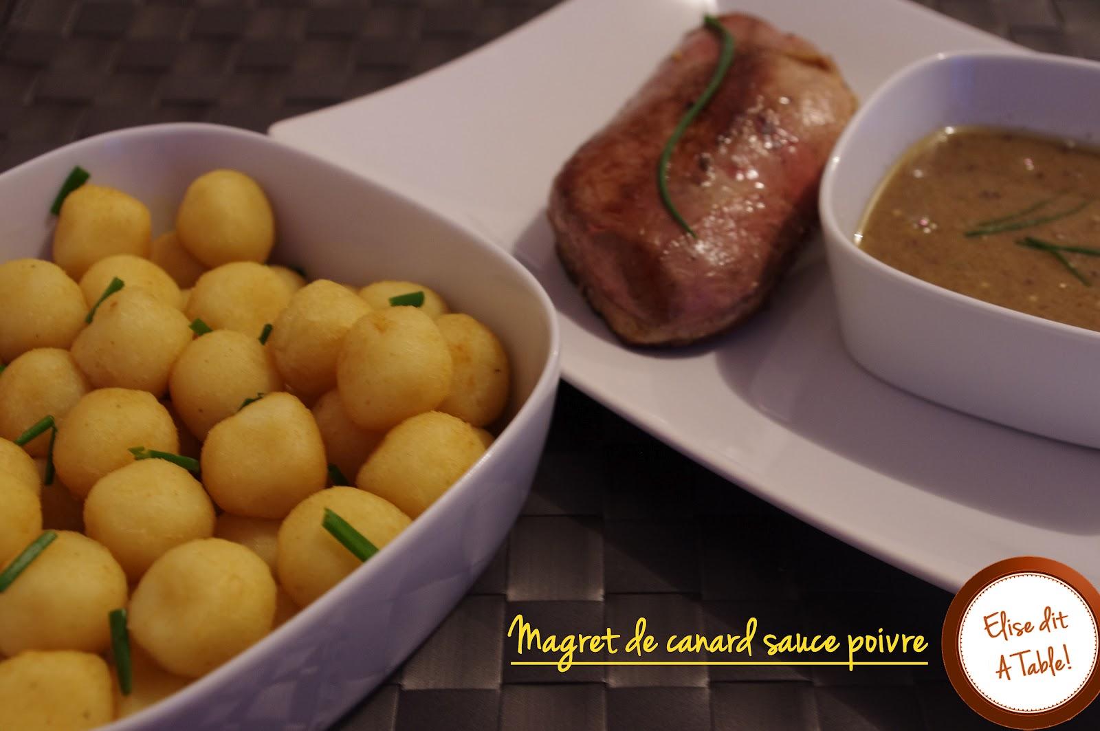 recette magret de canard sauce poivre blog cuisine. Black Bedroom Furniture Sets. Home Design Ideas