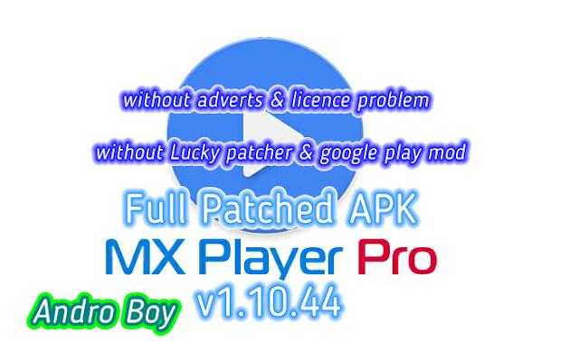 mx player download apk app