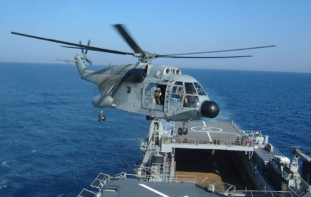 Gambar 49. Foto Helikopter Angkut Militer Aérospatiale SA 321 Super Frelon