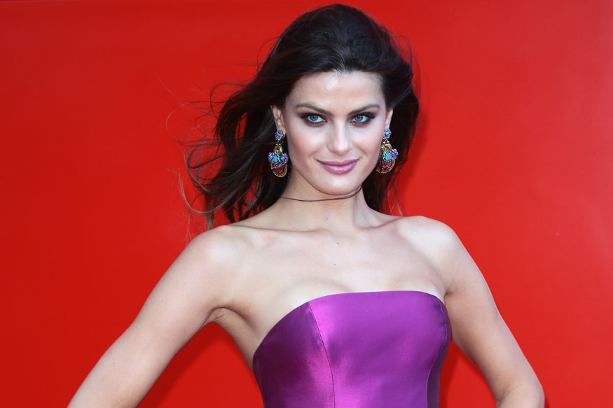 Vittoria Puccini and Isabeli Fontana at Franca Sozzanzi Award during the 74th Venice Film Festival