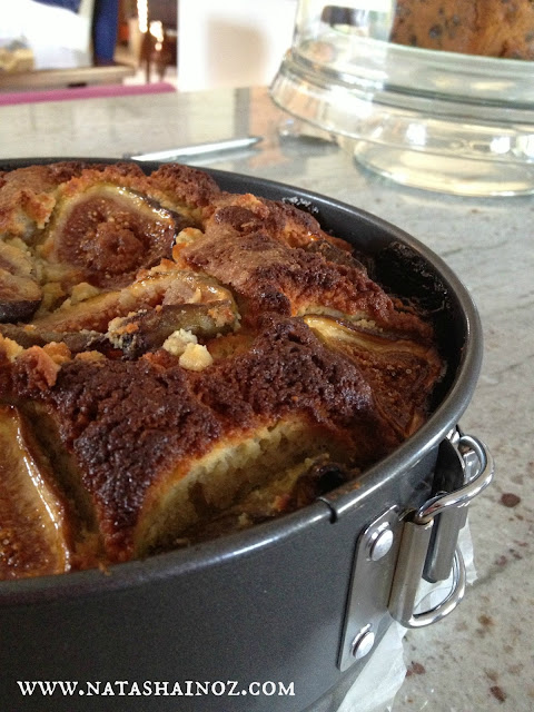 Say G'Day Saturday, Bill Granger's Fig and Hazelnut Cake Recipe, Natasha in Oz