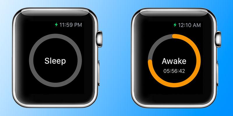 sleep track app for apple watch