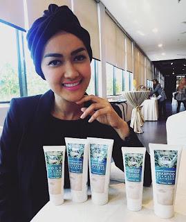 Artis Julia Perez pake ocean fresh skin care