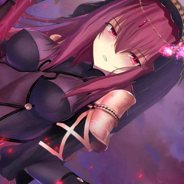 Fate/go Scathach Wallpaper Engine