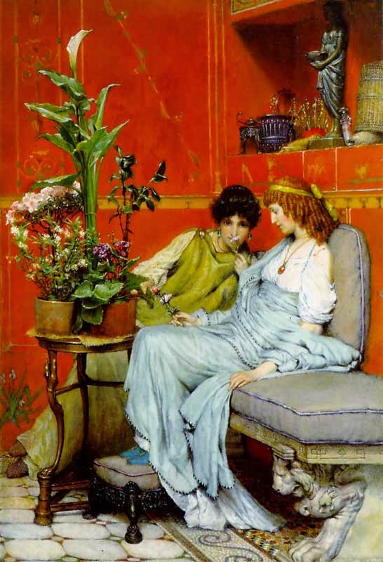 Confidências - As mais belas pinturas de Lawrence Alma-Tadema - (Neoclassicismo)