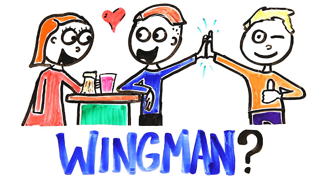 Get paid to be a wingman