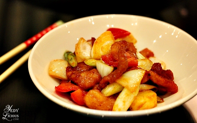 Sweet and Sour Pork at Hyatt Buffet COD Manila
