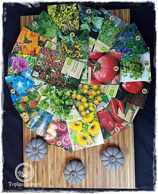 Gartenblog Topfgartenwelt Aussaat Tomatensorten Gartensaison 2018: Saatgut von Samen Maier