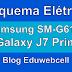 Esquema Elétrico Samsung SM-G610F Galaxy J7 Prime - Manual de Serviço