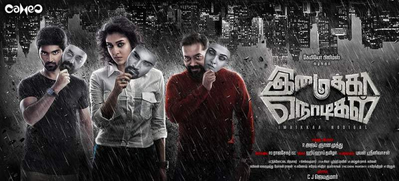 Imaikka Nodigal Movie Poster