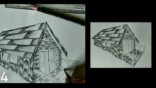Here completeing my drawing by using the same process