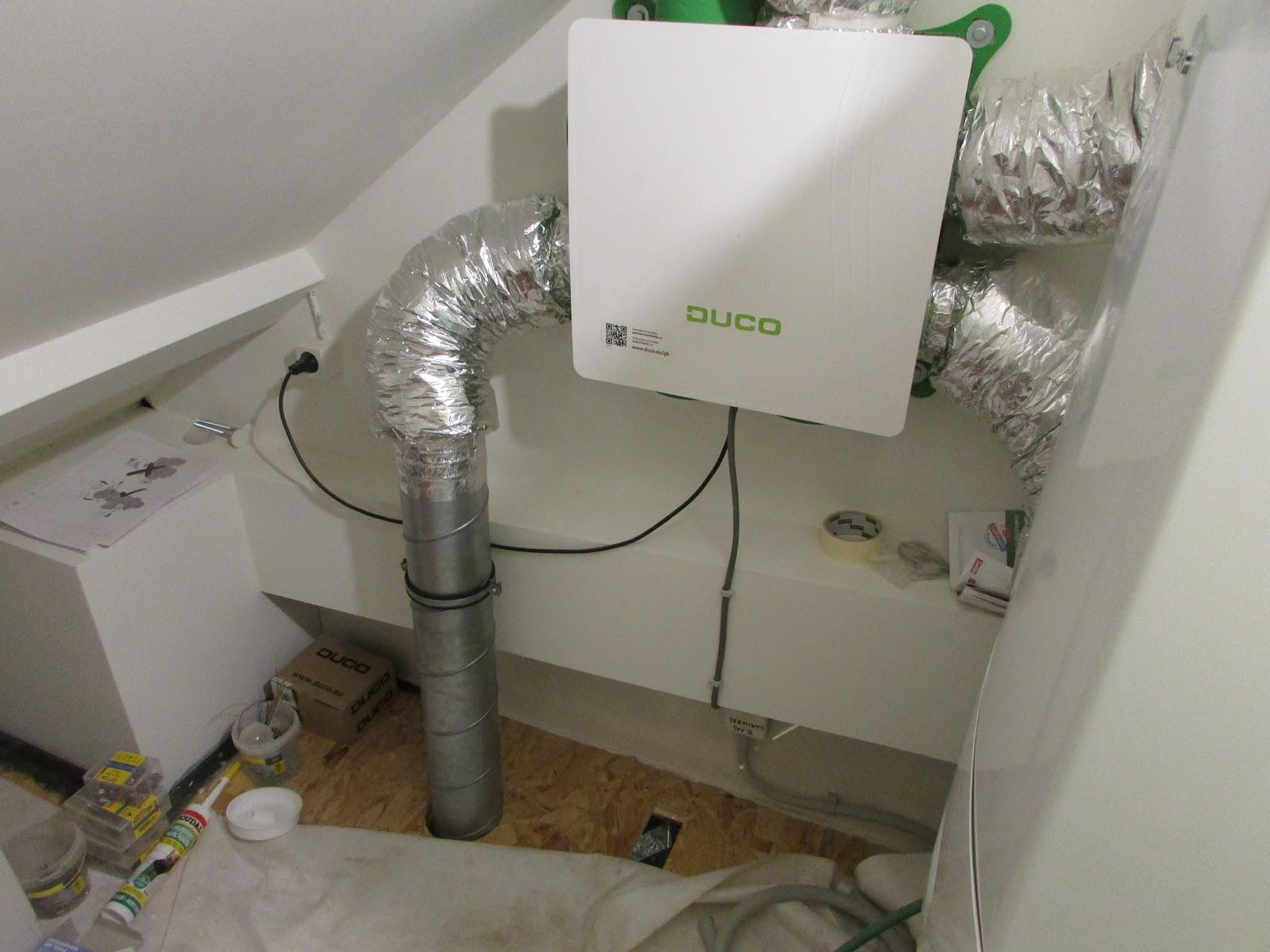 verbouwing van ons ouderlijk huis: ventilatie badkamer