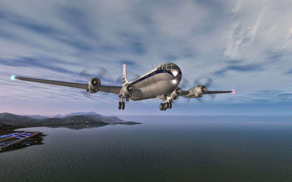 Boeing B-377 Stratocruiser 1 7 | Fabrice Kauffmann's X-Plane