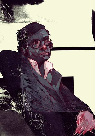 """Stephen Hawking"" by Patryk Hardziej, 2017 