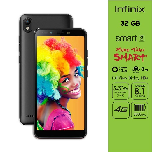 Infinix Smart 2 32 GB Unboxing Full Features, First Impression, Specs, Price in India Rs. 6,999/-