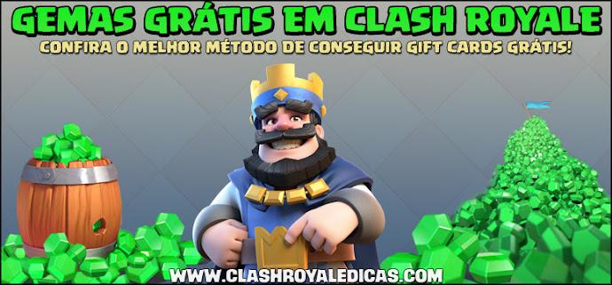 Como conseguir Gemas Grátis em Clash Royale