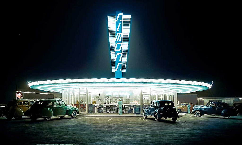 Drive in / station services - Page 6 Simon%2527s%252C%2BLos%2BAngeles%252C%2Bca.1940