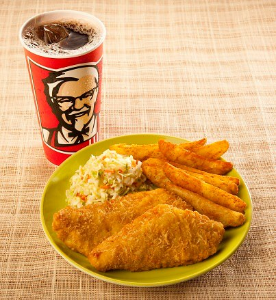 What a kfc seafood menu might look like brand eating for H salt fish and chips menu