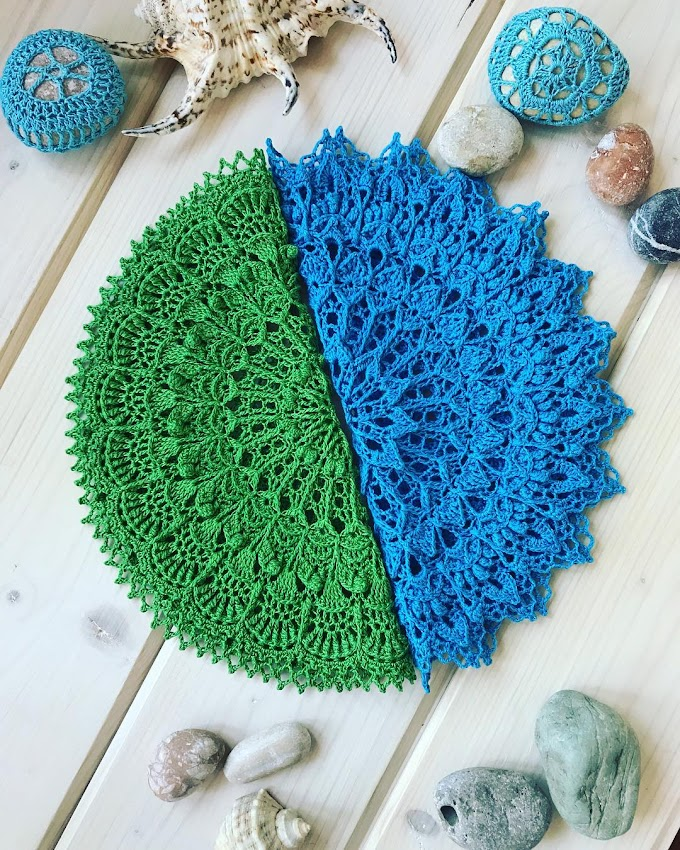 Patrones de carpetas a crochet