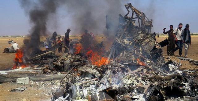Foto Pilot Dan Pesawat Militer Rusia Yang Jatuh Hari Ini