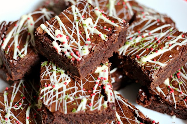 Cinco de Mayo Brownies (Chocolate, Chilli and Lime)
