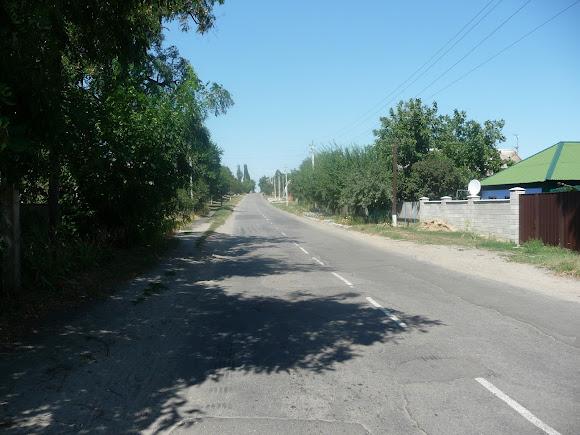 Васильківка. Вулиця Соборн