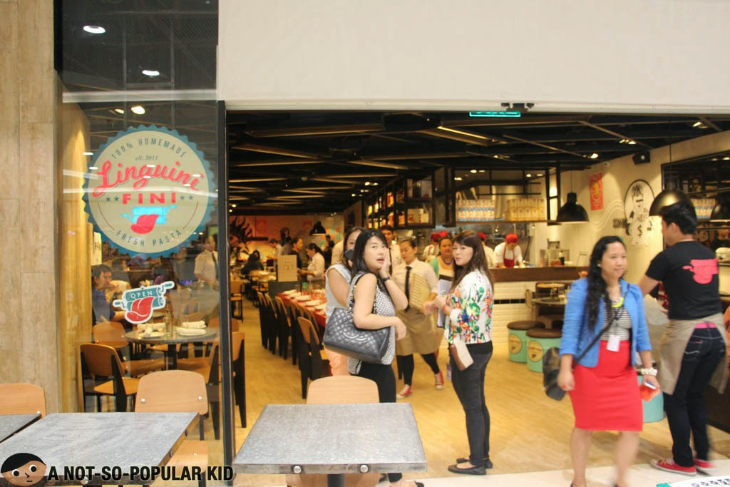 Linguini Fini opens up in SM Megamall for the first store in the Philippines