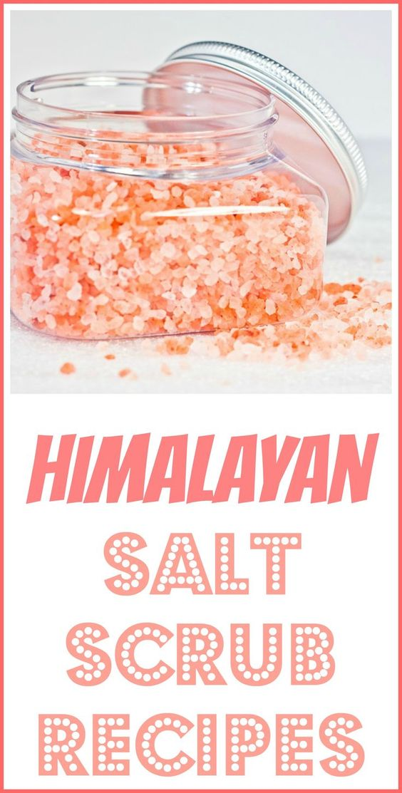 HIMALAYAN SALT SCRUB RECIPES