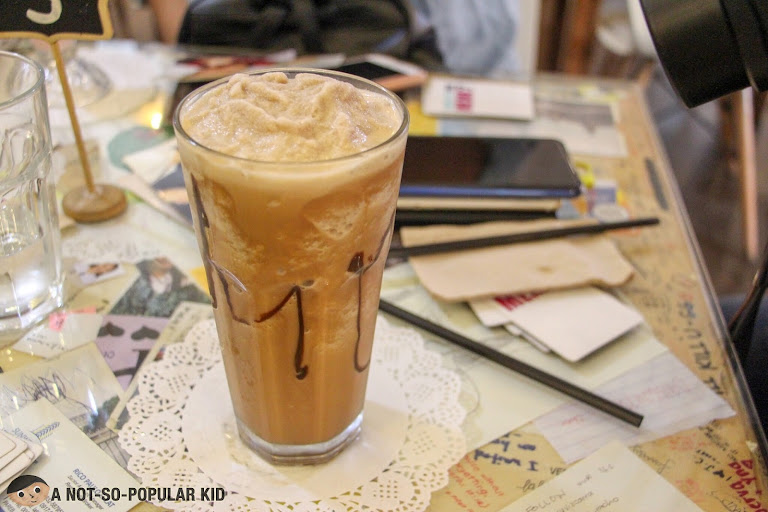 Frappe Blended Coffee of Cafe Noriter