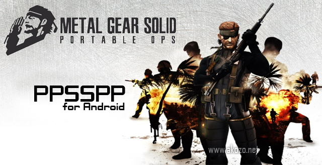 Download Metal Gear Solid : Portable Ops CSO