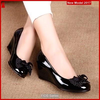 FIDS102 Sandal Wanita Wedges Pantopel Untuk Kerja