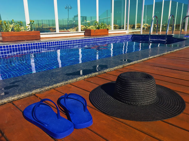 Coisas de diva no Rooftop do BW Plus Oásis Cabo Frio