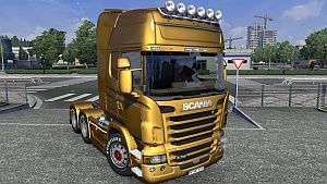 Reworked Scania R by GT-Mike