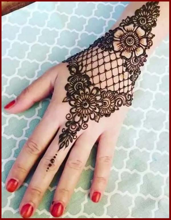 Mehendi designs for hands latest 2018 simple