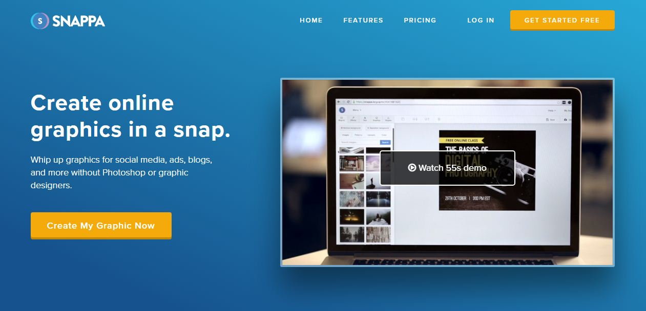snappa photo edit online