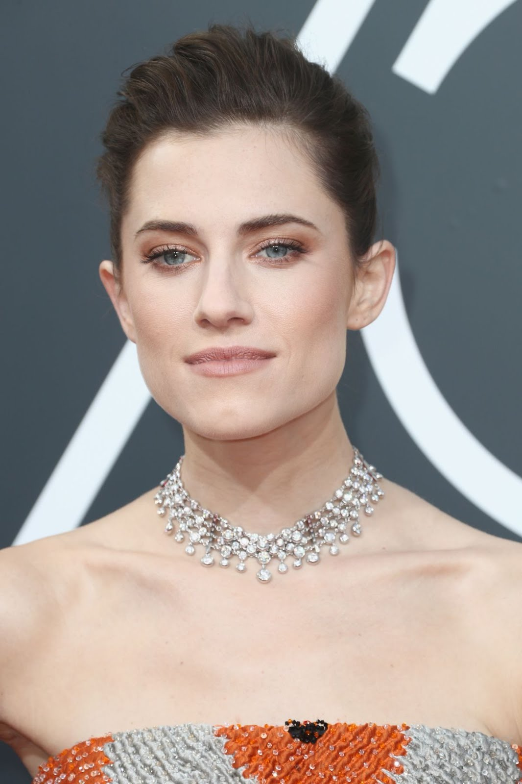 Allison Williams At 75Th Annual Golden Globe Awards In Beverly Hills