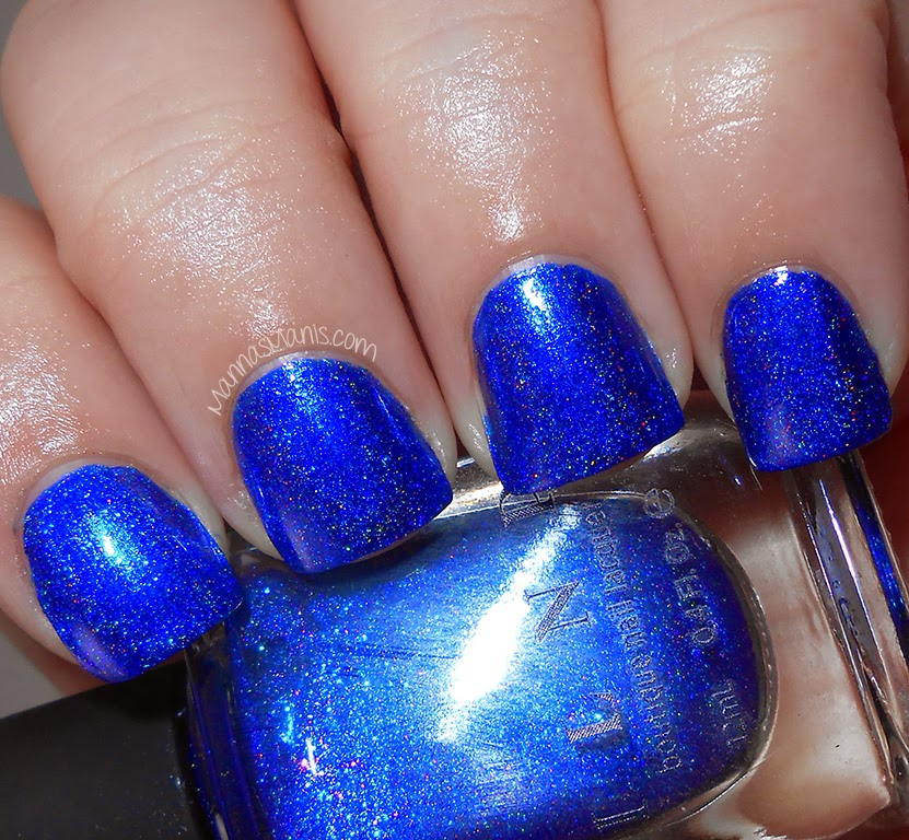 ILNP Summer Stargazing, blue holographic nail polish