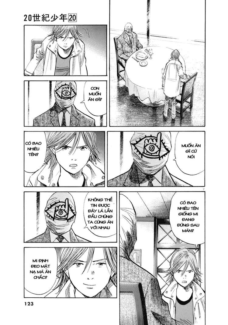 20th Century Boys chapter 221 trang 13